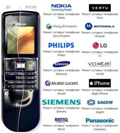 Ремонт мобильных телефонов в Краснодаре